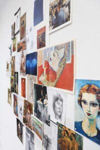 Inspiratie voorbeelden om te tekenen en te schilderen tijdens de schildercursus op vrijdag ochtend; bijvoorbeeld afbeeldingen van Matisse, Gauguin en Van Dongen