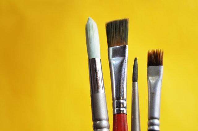 Iedere kwast is voor een andere schilder techniek; Bob Ross, Van Gogh, Rembrandt, Cobra, Pop art