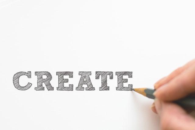 Met potlood lijnen en arceringen kun je alle creaties maken; create
